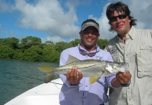 Fly-fishing Photo of Snook - Robalo shared by Cristian De Corral – Fly dreamers
