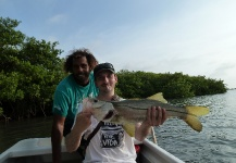 Fly-fishing Picture of Snook - Robalo shared by Matthias Nowak – Fly dreamers