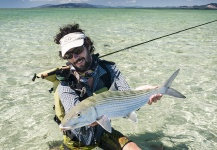 Damien Brouste 's Fly-fishing Image of a Bonefish – Fly dreamers