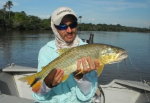 Danilo Marinho 's Fly-fishing Image of a Golden Dorado – Fly dreamers