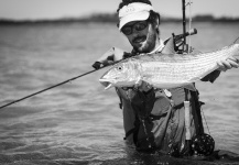 Damien Brouste 's Fly-fishing Photo of a Bonefish – Fly dreamers