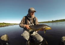 Fly-fishing Pic of Brown trout shared by Kristian Solli – Fly dreamers