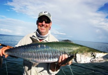 Steven Davies 's Fly-fishing Catch of a Spanish Mackerel – Fly dreamers