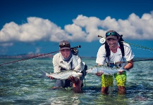 Fly-fishing Picture of Bonefish shared by Damien Brouste – Fly dreamers