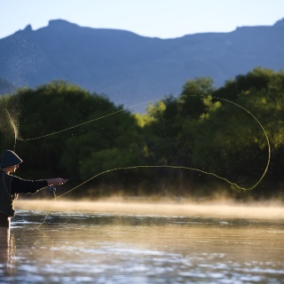 Fly fishing - Arroyo Verde Lodge