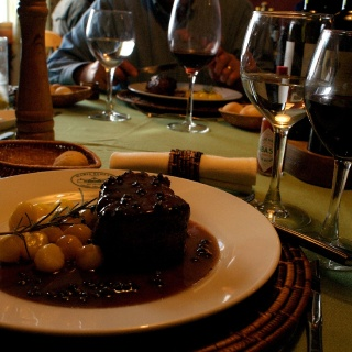 Dinner - Estancia Maria Behety Lodge - Argentina