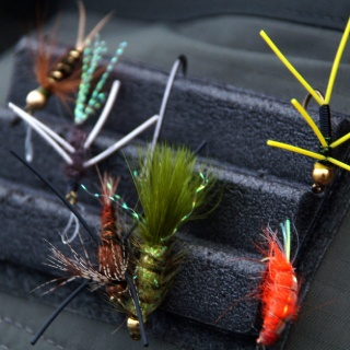 Some flies for the Rio Grande - Maria Behety Fly fishing lodge