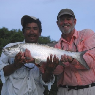 ANOTHER BABY TARPON IN ZARAGOZA CHANEL
