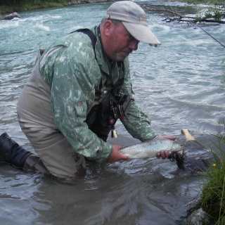 Fly Fishing for Trout in Norway 2014