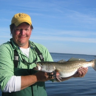 specks on the Neuse River with Capt. Brian Shumaker of PA