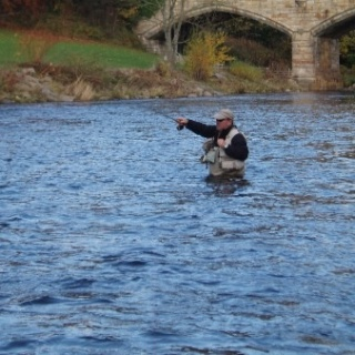 Winter Grayling Fishing on River Tees