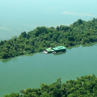 Aerial view of the Ecolodge # 02