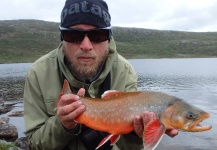 Fly-fishing Image of Arctic Char shared by Anders Olsson – Fly dreamers