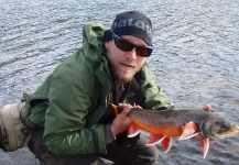 Fly-fishing Situation of Arctic Char shared by Anders Olsson