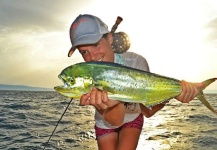 Katka Švagrová 's Fly-fishing Catch of a Dorado - Mahi Mahi – Fly dreamers