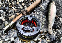 Fly-fishing Gear Image by Uros Kristan
