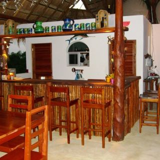 The restaurant at the first floor -  Punta Allen fishing club