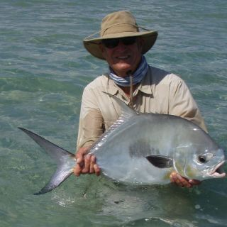 Another nice Permit - Punta Allen fishing club