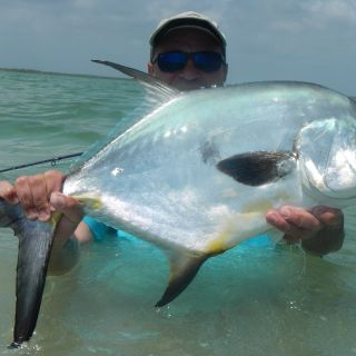 Summer time permit - Punta Allen fishing club