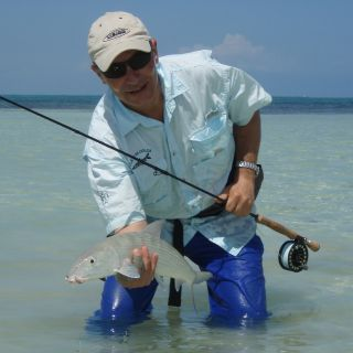 big bonefish - Punta Allen fishing club