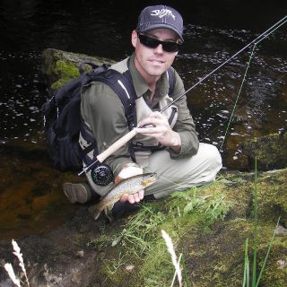 Visiting from Australia I wild brown trout from Upper River Eden